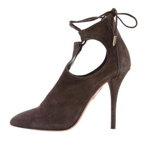 NIB Aquazzura ankle booties 38.5